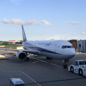 SFC修行 第33レグ 夏時のANA2159便 長い日没を体感したフライト ANA2159 20190727