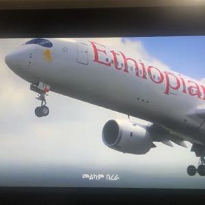 世界一周第8レグ アフリカ大陸横断!担当便のパイロットに遭遇 ET909 20191016