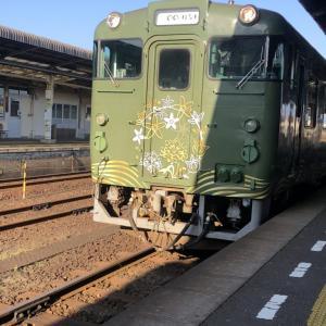 【1/11・長門市→新下関】JR西日本の観光列車◯◯のはなしに乗車