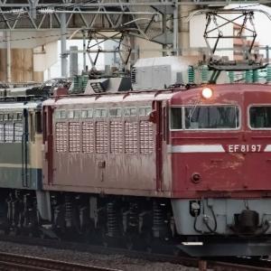 EF65 1105[田]全検出場配給