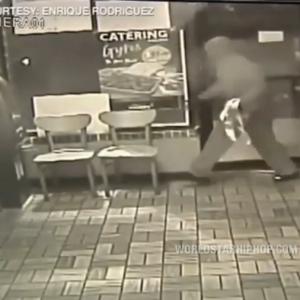 【自業自得】ATM泥棒が股関節を折る瞬間