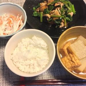 豚肉と小松菜の炒め物◇青椒肉絲の素アレンジ◇