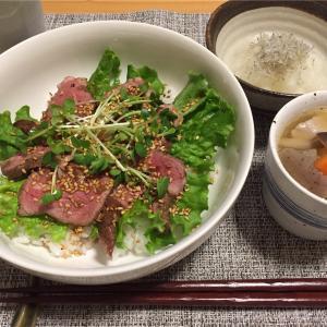 (半額)ローストビーフ丼   ◇食べたことないけど◇