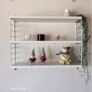 ポチレポ!!クリスマスアイテム多めでテンション上がる〜╰(*´︶`*)╯♡ニッセと一緒に飾るのが楽しみ♡