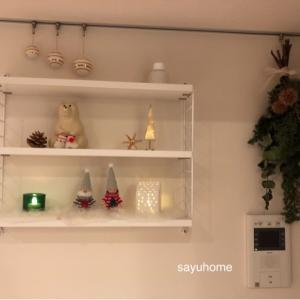 ニッセ達のお家に灯りが♡クリスマスを楽しむインテリアに(*´∀`)♪