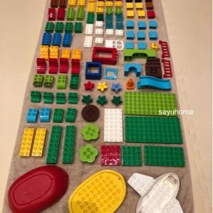 おもちゃも大掃除〜*\(^o^)/*レゴもピッカピカに♡
