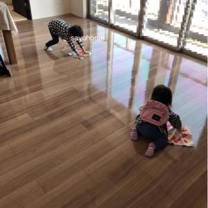大掃除〜こんなに床が見えたのは初めてヽ(´▽`)/それからポチレポ☆