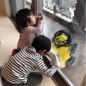 窓も大掃除〜!!そして、子供達と餃子作りで成長が🎶