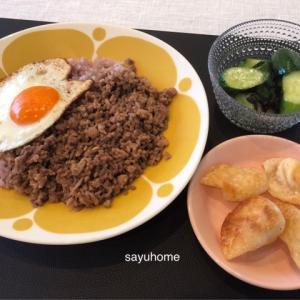 ガッツリな丼で、スタミナを(о´∀`о)それから、夫の家事力。