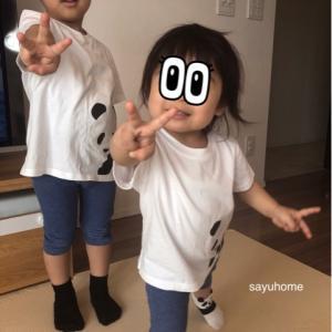 【無印】子供達のお揃いコーデ♪からの仮面ライダー!!