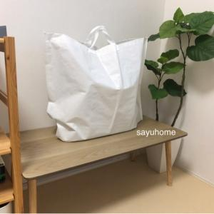 【無印】デポジットの再生ポリプロピレンバッグ、めっちゃいい〜(๑˃̵ᴗ˂̵)