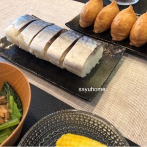 感謝♪( ´▽`)このブログも1周年!!そして、来年までガマンできなかった鯖寿司♡
