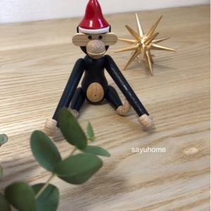 一足先にクリスマス〜♡ブラックモンキーが可愛すぎる(๑˃̵ᴗ˂̵)