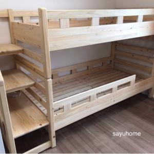 子供達、夢の2段ベッド〜!!寝相や寝かしつけに変化は…?