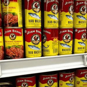 マレーシアの缶詰といえば『AYAM BRAND』おすすめのサバ缶!
