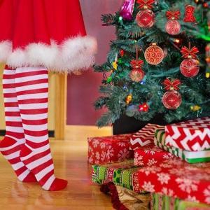 【クロスステッチ刺繍】クリスマスツリー その1