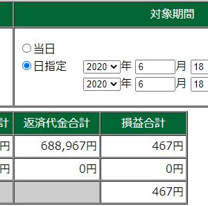 【デイトレ】6/18成績。負け><