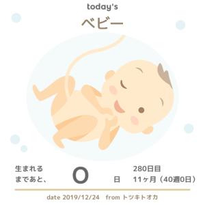 【妊娠11ヶ月(40w0d)】出産予定日を迎えましたが、生まれる気配がまったくありません(笑)