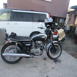 黒いバイクの日