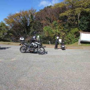 秋のつばき茶屋ツーリング 岬
