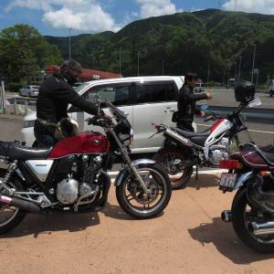 トンネルツーリング 北琵琶湖へ