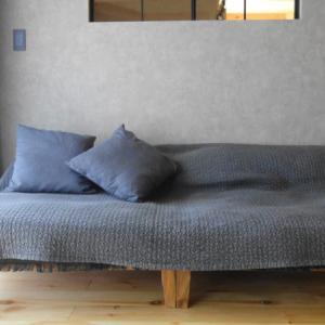 イブルをソファカバーにしたら最高!サイズや洗濯方法は?