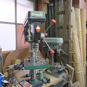 ラジアルボール盤の修理 コンデンサー交換