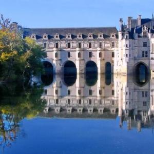 フランスの、遠い昔の想い出。(シュノンソー城)