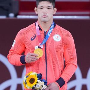 柔道男子73キロ級、大野将平が 金メダル!