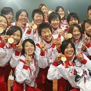 日本女子ソフトボール、優勝!