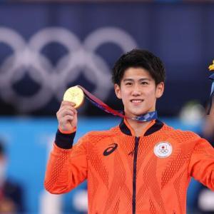 体操、橋本大輝が 金メダル!