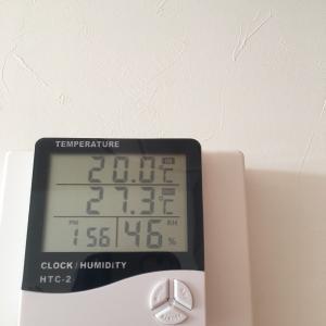 吹き抜けあるゼロキューブは寒い? 室内外温度の記録&考察