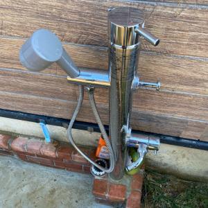 ペットシャワー修理完了!