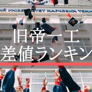 【2019年度】旧帝国大学と一橋・東工大の偏差値ランキング!