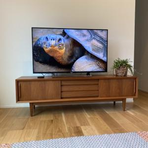リビングのサイズとテレビのサイズ。【一条工務店】