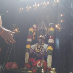プラティヤンギラー寺院(星の力のインド旅15)