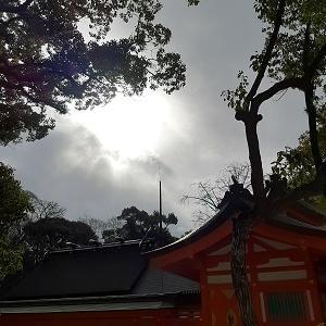 祈りー櫛田神社