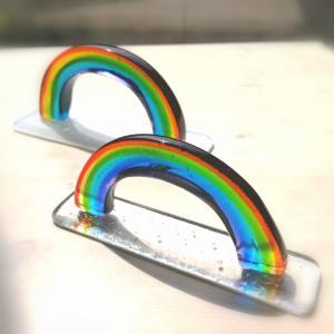 虹のオブジェ
