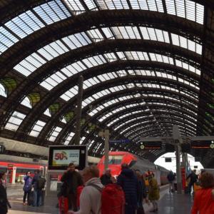 ニース~ミラノ(列車で移動)