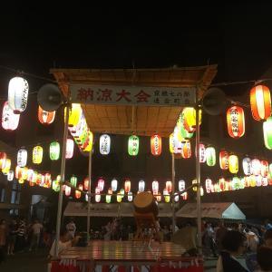 京華スクエア 盆踊り大会 2019年8月30日