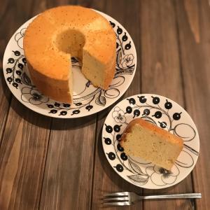潰れないメレンゲを作るコツを活かした会心のシフォンケーキ