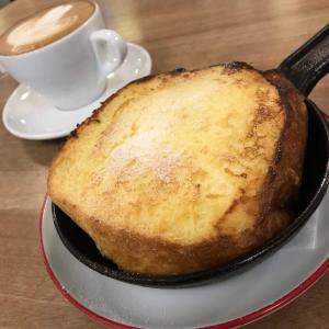 「パンとエスプレッソと」の数量限定フレンチトーストは超トロトロ