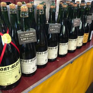 仏人曰く、二流のアルコール・シードルは、マルシェで買うべし