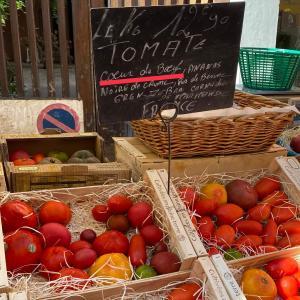 フランス人が大好きな、牛の心臓という名のドデカ・トマト