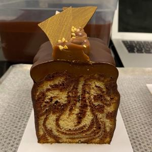 素朴なはずのパウンドケーキ…パティシエが作ると、こうなる