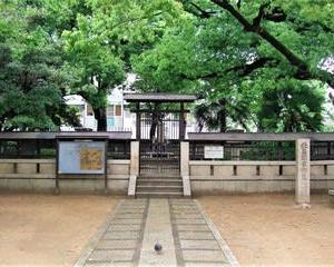 大阪市阿倍野、北畠界隈の歴史探訪(その1 阿部野神社と北畠公園)