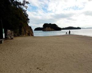 行ってきました GO TO TRAVELで小豆島(その2 エンジェルロード、土淵海峡、オリーブ公園、大阪城残石公園)