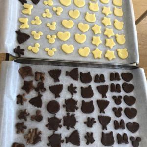 クッキング「バレンタインクッキー」