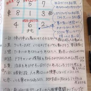 ★おやすみ前のノートから  10月17日(木)あなただけの秘め事、それは・・・★