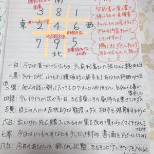 ★おやすみ前のノートから  11月26日(火)書類は慣れていても必ずダブルチェックで★